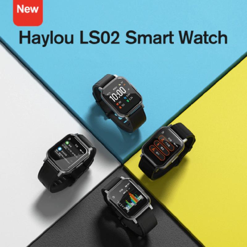 Haylou LS02 Smart Watch 2-Black