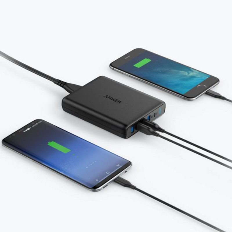 Anker PowerPort I PD with 1 PD AND 4 Power IQ