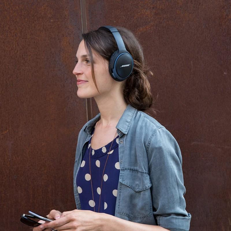 BOSE HEADPHONE SOUNDLINK AROUND EAR WIRELESS 2 BLACK