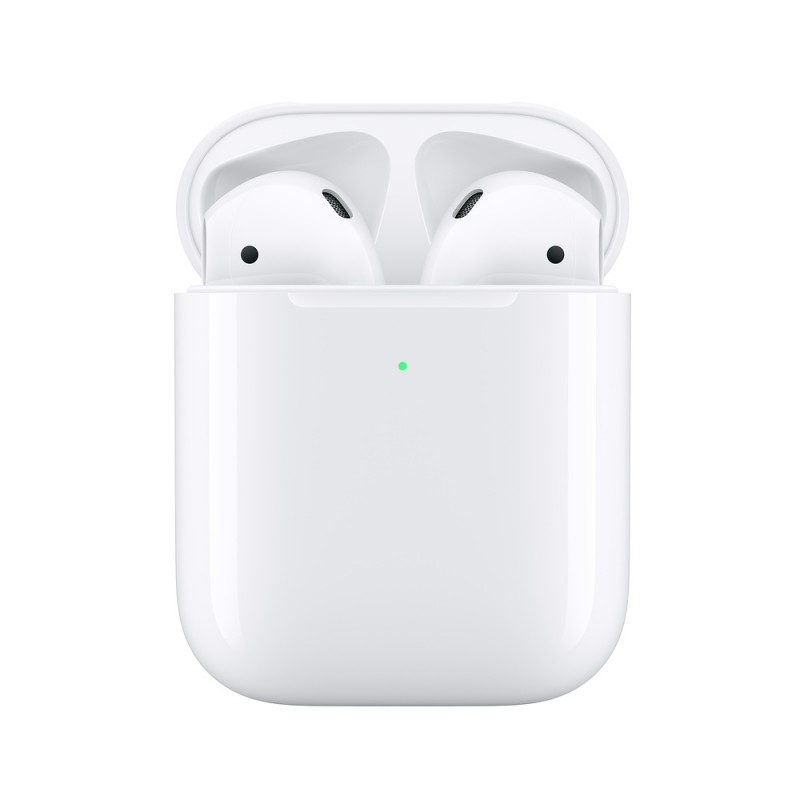 APPLE EARPHONE AIRPODS 2 WITH WIRELESS CHARGING CASE MRXJ2 WHITE