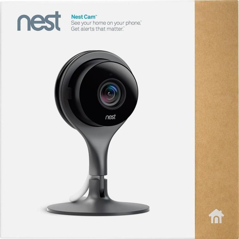 NEST SECURITY INDOOR NC1102ES CAMERA BLACK/SILVER