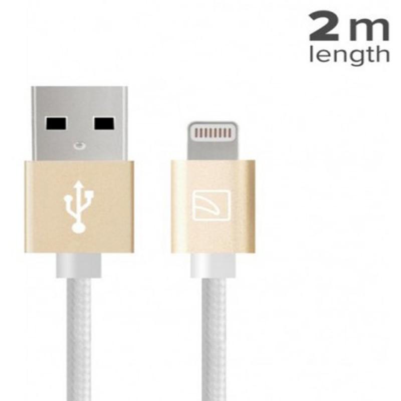 TUCANO CA-COALG8-W Lightning Cable 2M - White