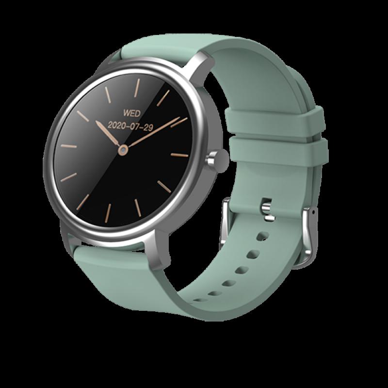 Mibro Air Smart Watch-Black/Green