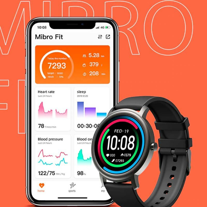 Mibro Air Smart Watch-Black