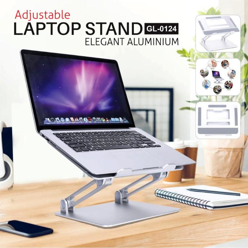 Adjustable Laptop Stand Aluminium Fold-Able