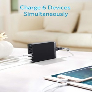 Anker PowerPort 6 Desktop Charger
