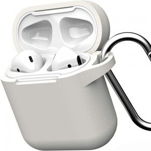 GEAR4 Apple Airpod Cases 1 & 2 Generation - White