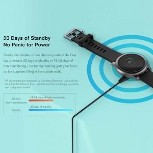 Haylou LS05 Smart Solar Watch Global Version – Black