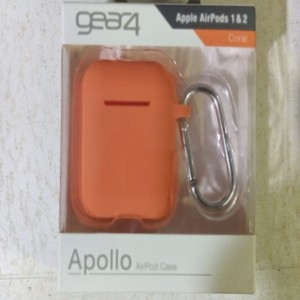 GEAR4 Apple Airpod Cases 1 & 2 Generation - Coral