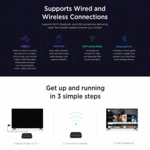 Mi Box S 4k Ultra HD Set-top box
