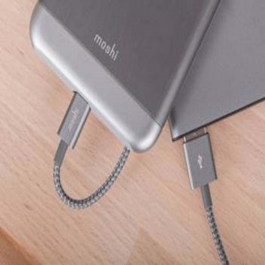 MOSHI Integra™ Lightning to USB-A Charge/Sync Cable - Titanium Gray