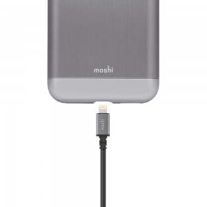 MOSHI USB Cable with Lightning Connector (3m) Black