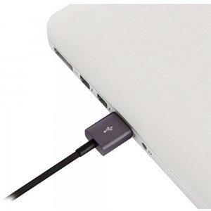 MOSHI USB Cable with Lightning Connector - 1.0m Black