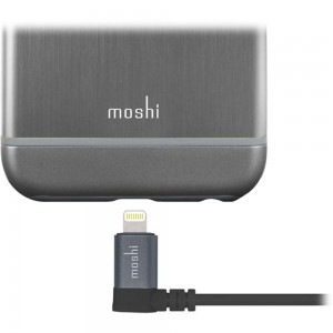 MOSHI Lightning to USB Cable with 90-degree connector 1.5m - Black