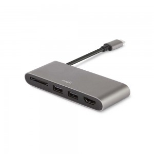 USB-C Multimedia Adapter-GREY