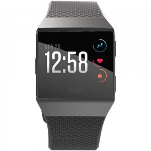 FITBIT ACTIVITY TRACKER IONIC FITNESS WATCH CHARCOAL/SMOKY GRAY
