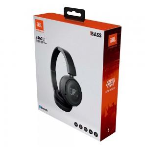 JBL HEADPHONE T460BT WIRELESS ON-EAR BLACK