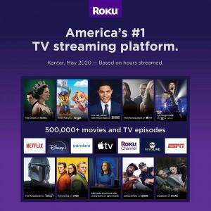 ROKU STREAMING MEDIA PLAYER EXPRESS 3930RW BLACK