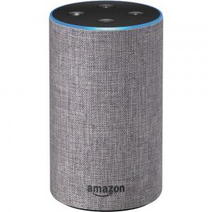 AMAZON SPEAKER ECHO 2 (SANDSTONE FABRIC, HEATHER GRAY FABRIC)