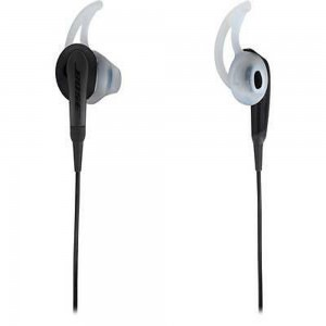 BOSE EARPHONE SOUNDSPORT WIRED FOR APPLE (POWER RED, CHARCOAL