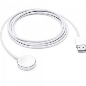 APPLE CABLE WATCH MAGNETIC CHARGER TO USB (2M) MU9H2 WHITE