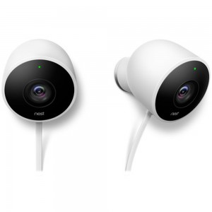 NEST SECURITY OUTDOOR (2 PACK) NC2400ES CAMERA WHITE