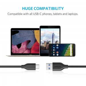 PowerLine 3ft USB-C to USB 3.0