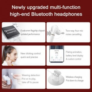 Haylou T19 Wireless Charging TWS+ Bluetooth Headphones