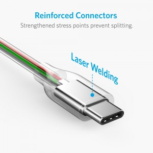 Anker Powerline+ USB C to USB-A 3.0 Cable - 6ft