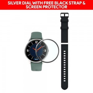 Xiaomi IMILAB Smart Business 3D Curved Watch KW66-Black/Green with Extra Strap + Free Screen Protector