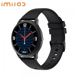 Xiaomi IMILAB Smart Business 3D Curved Watch KW66-Black with Extra Green Strap + Free Screen Protector