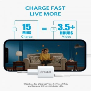 Anker PowerPort III Nano 20W USB-C Charger with PowerIQ 3.0 Technology