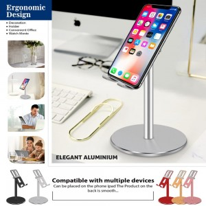 Aluminum alloy table stand – Silver