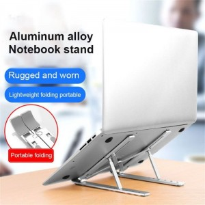 Aluminium Alloy Creative Laptop Stand,Portable And Fold-Able